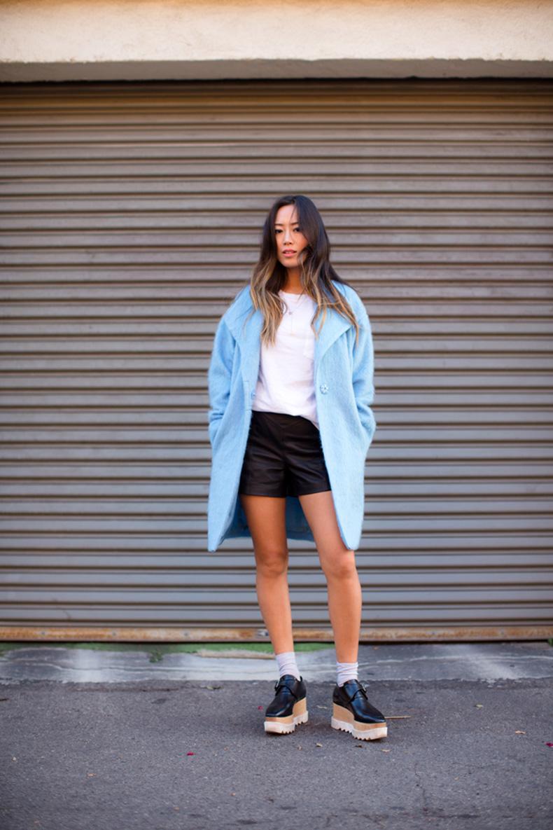 aimee_song_blue_wool_coat_stella_mccartney_platform_loafers_2
