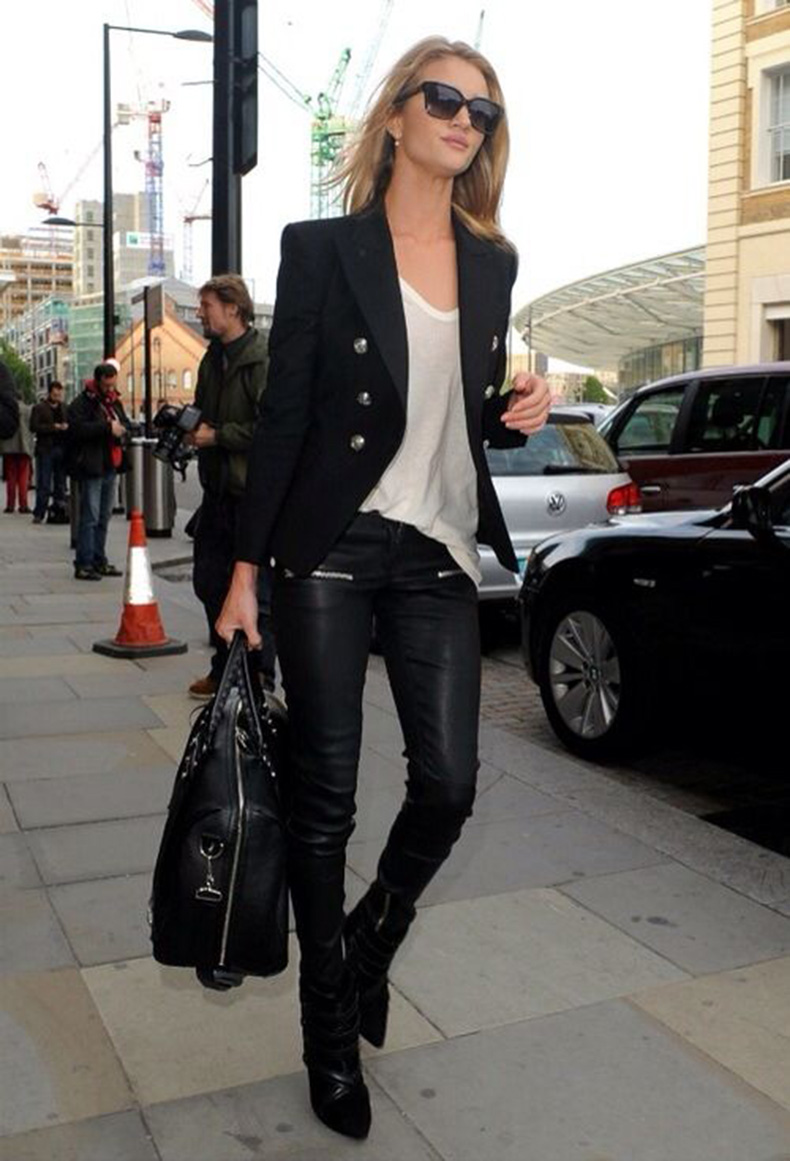 black-leather-skinnies-black-and-white-model-style-white-tee-black-platform-booties-black-jacket-blazer-all-black-rosie-huntington-whitely-via-theyallhateus.com_