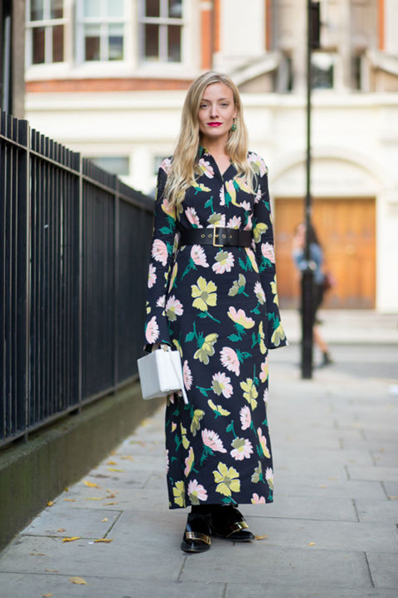 fall-dresses-fall-maxi-drresses-dresses-fall-florals-belted-dark-florals-floral-dress-oxfords-kate-foley-lfw-street-style-via-harpersbazaar.com_