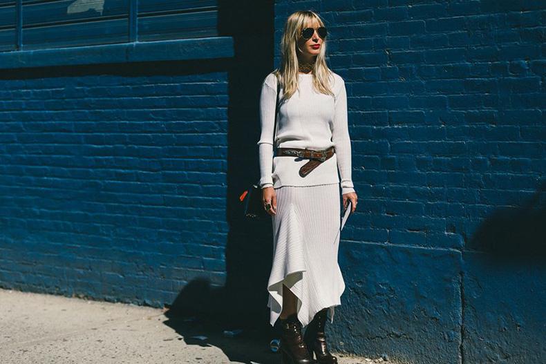 fall-outfits-putty-offf-white-grey-asymmetrical-hankerchie-hemline-skirt-western-belt-booties-fall-outfits-work-outfits-nyfw-fall-outfits-via-racked