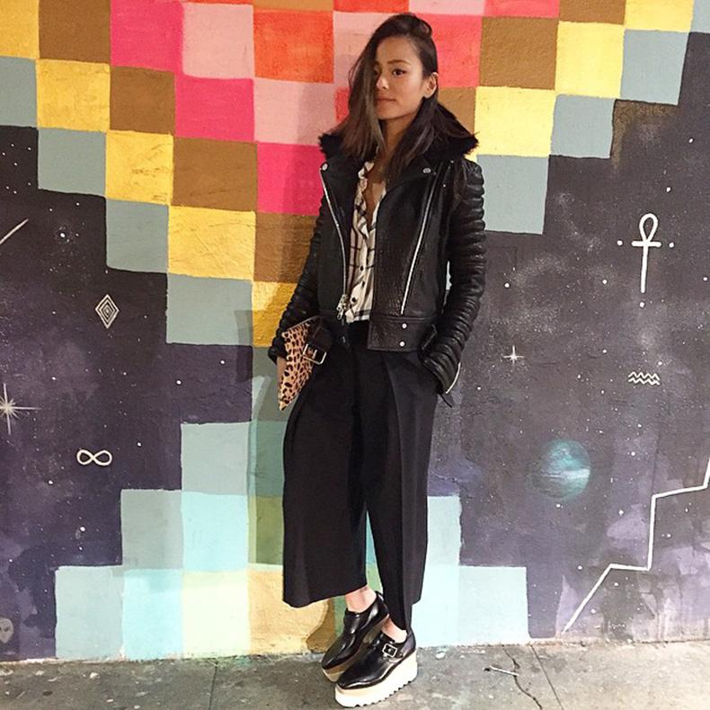 jamie-chung-stella-mccartney-platform-shoes