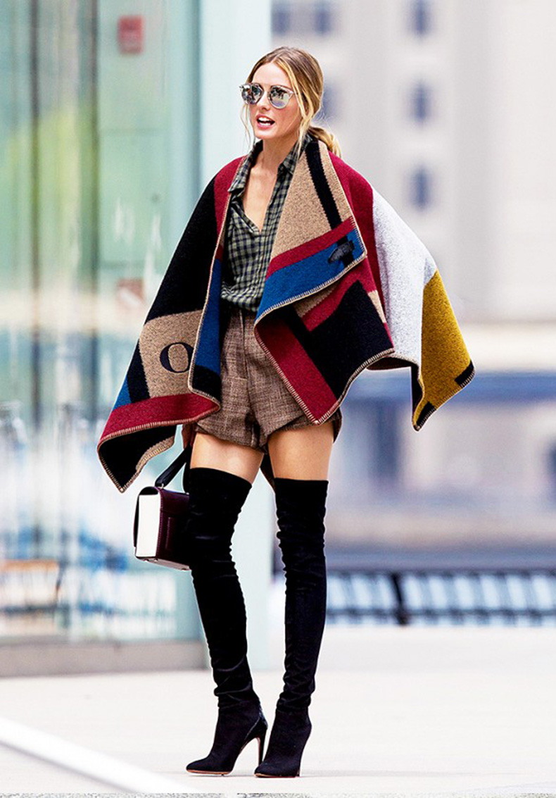 olivia-palermo-blanket-coat-burberry-shorts-in-winter-plaid-shirt-mixed-prints-burberry-cape-over-the-knee-boots-olivia-palermo-via-oliviapalermo-whowhatwear