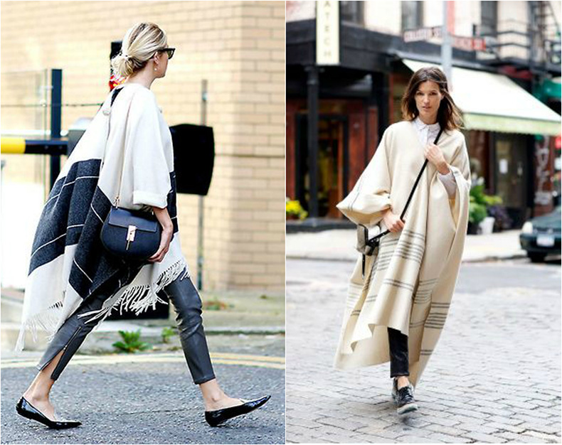 poncho-streetstyle_-best-styling-wearing-poncho_how-to-wear-a-poncho_winter-autumn-2014