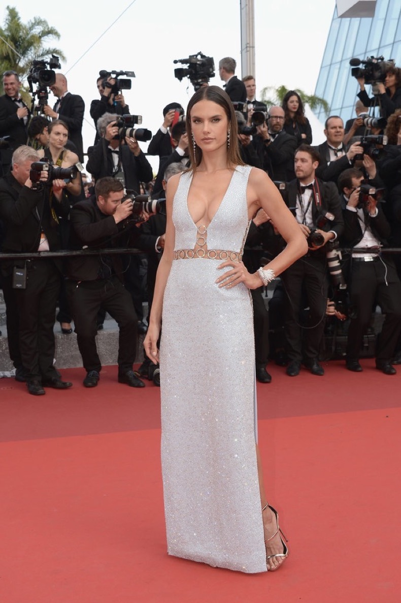 Alessandra-Ambrosio-wore-custom-crystal-embroidered-gown-from