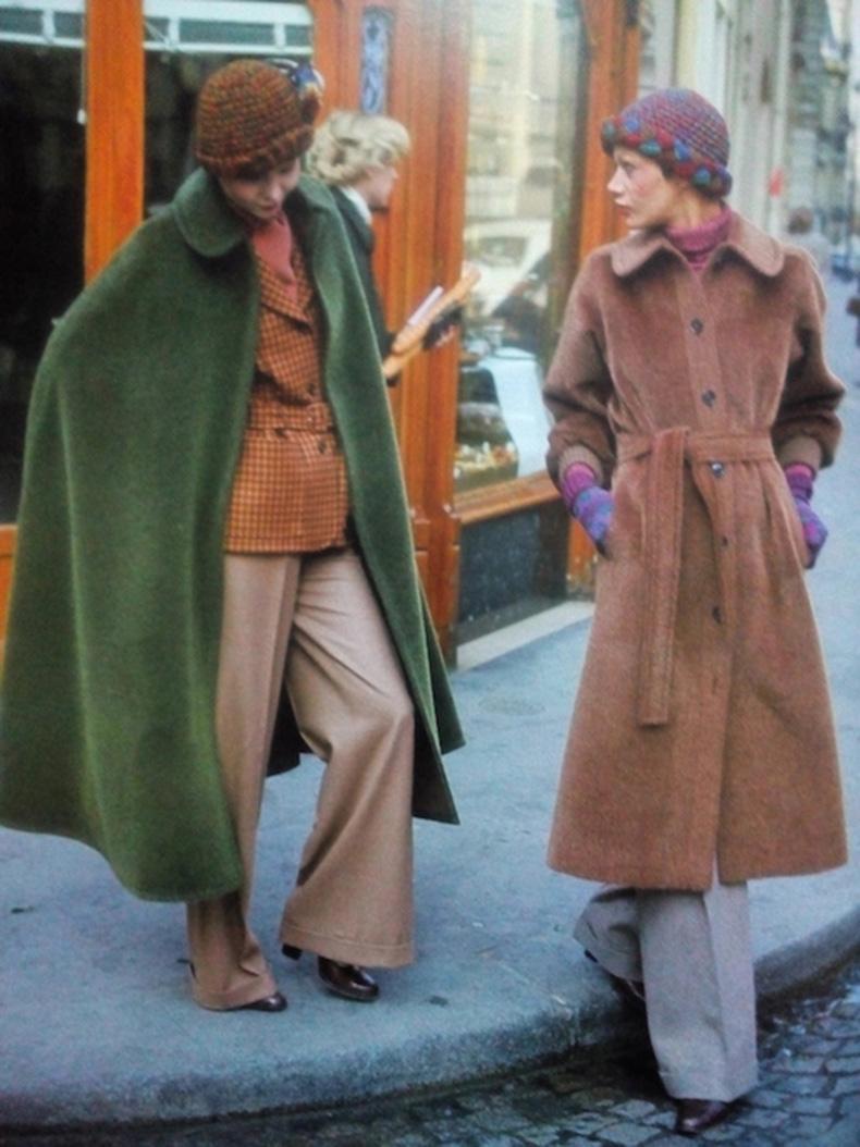 Le-Fashion-Blog-1970s-70s-Street-Style-Vintage-Photos-Wool-Coats-Wide-Leg-Pants-Via-Tres-Blase