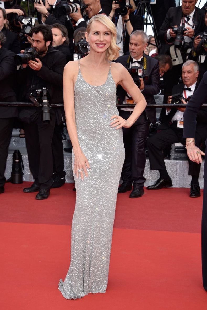 Naomi-Watts-shimmered-steel-crystal-encrusted-silk-chiffon-gown