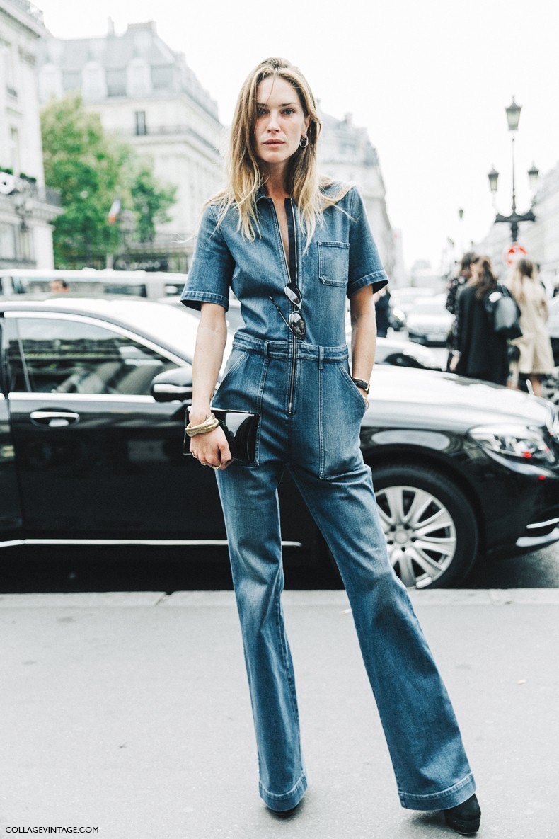 PFW-Paris_Fashion_Week-Spring_Summer_2016-Street_Style-Say_Cheese-Erin_Wasson-Stella_McCarteny-Denim_Jumpsuit-1-790x1185