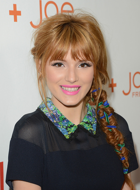 bella-thorne-ribbon-hair
