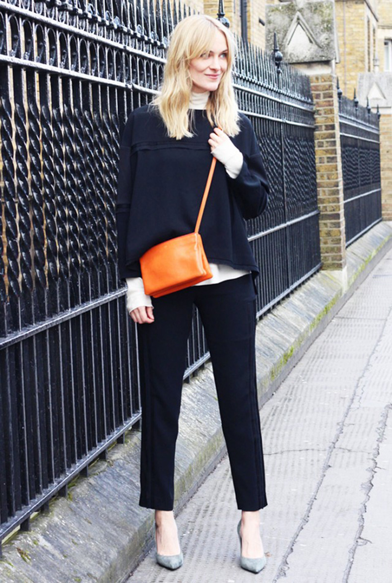 fall-winter-work-outfit-black-and-white-black-ankle-trousers-greige-pumps-grey-whit-turtleneck-fall-layers-rule-of-3-via-blame-it-on-fashion-