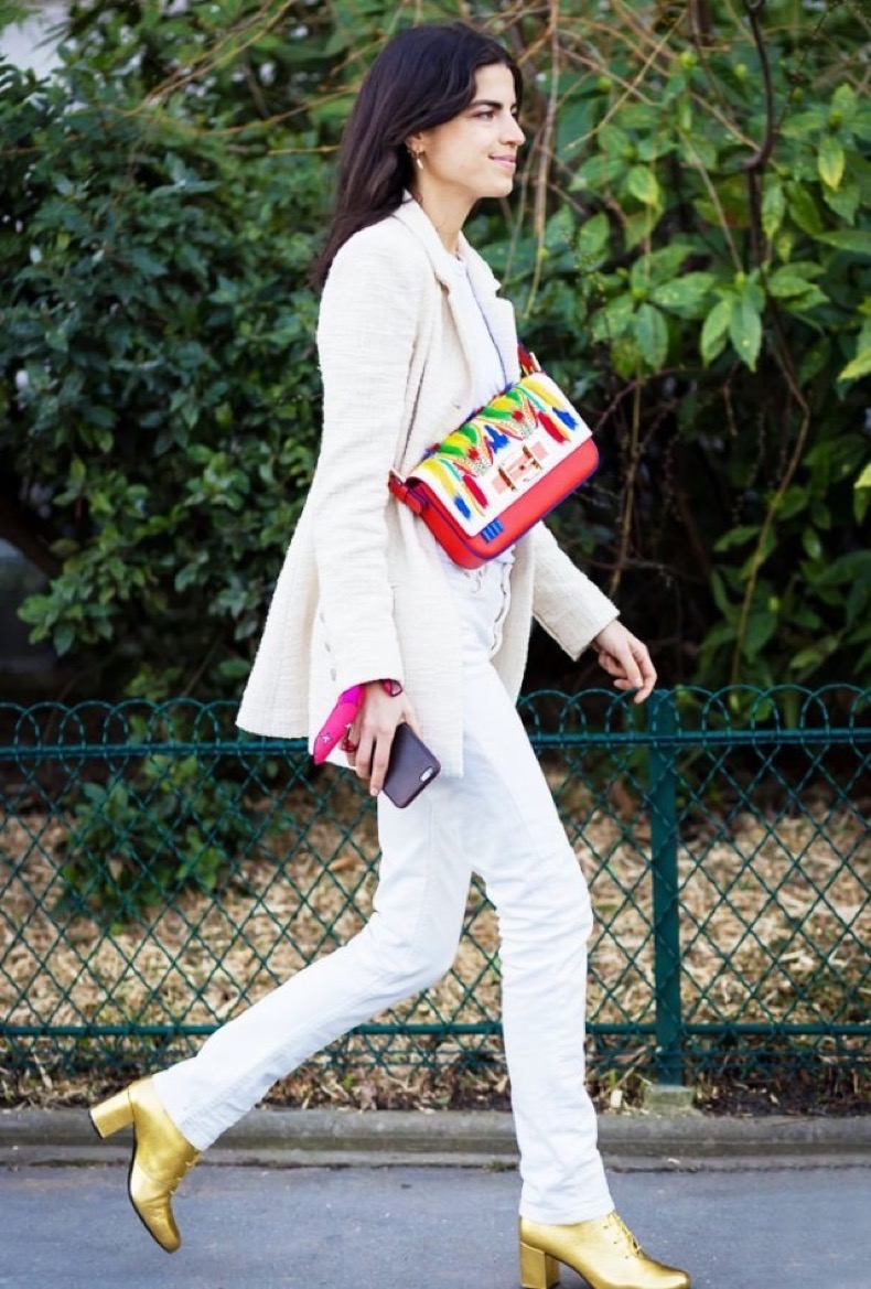 gold-lace-up-booties-white-jeans-fall-whites-white-blazer-leandra-medine-man-repeller-via-www-640x947