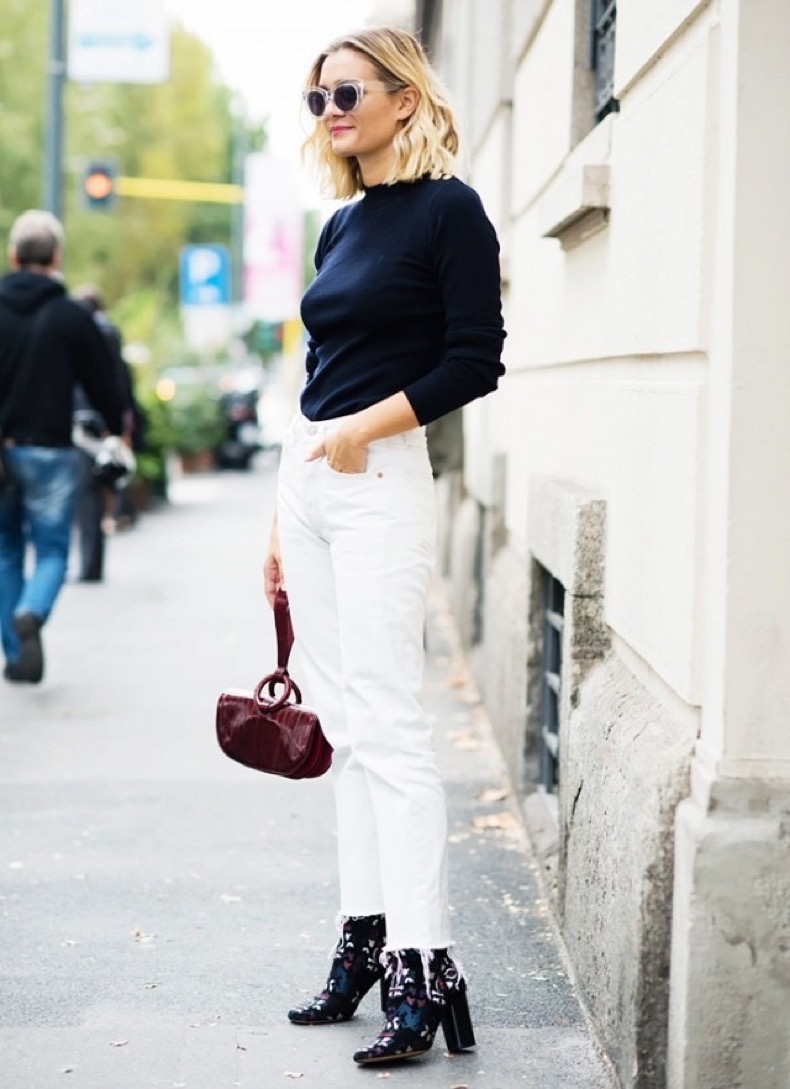 jeans-booties-mom-jeans-white-jeans-turtleneck-navy-navy-and-white-printed-boots-jeans-and-booties-frayed-cropped-jeans-and-boots-adenorah