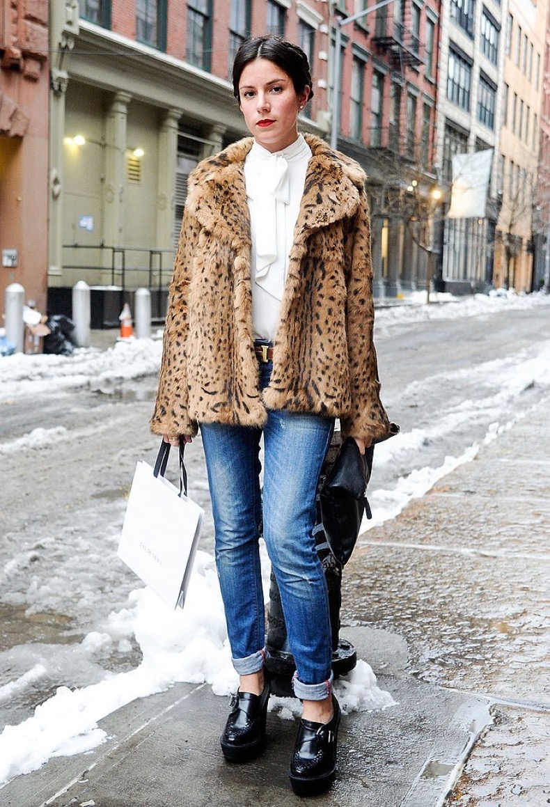 <> at Streets of Manhattan on February 5, 2014 in New York City.