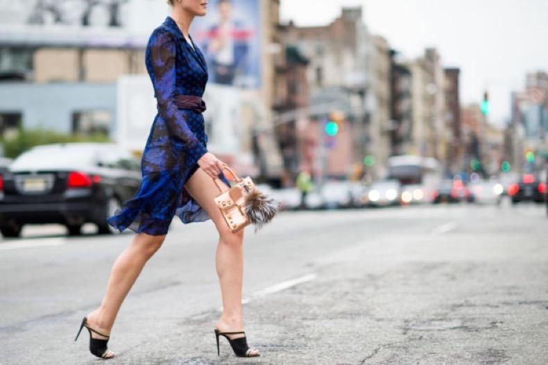 nyfw-fall-outfits-via-elle.com-printed-boho-dvf-dress-fall-dress-work-outfit-mules-transitional-dressing-640x426