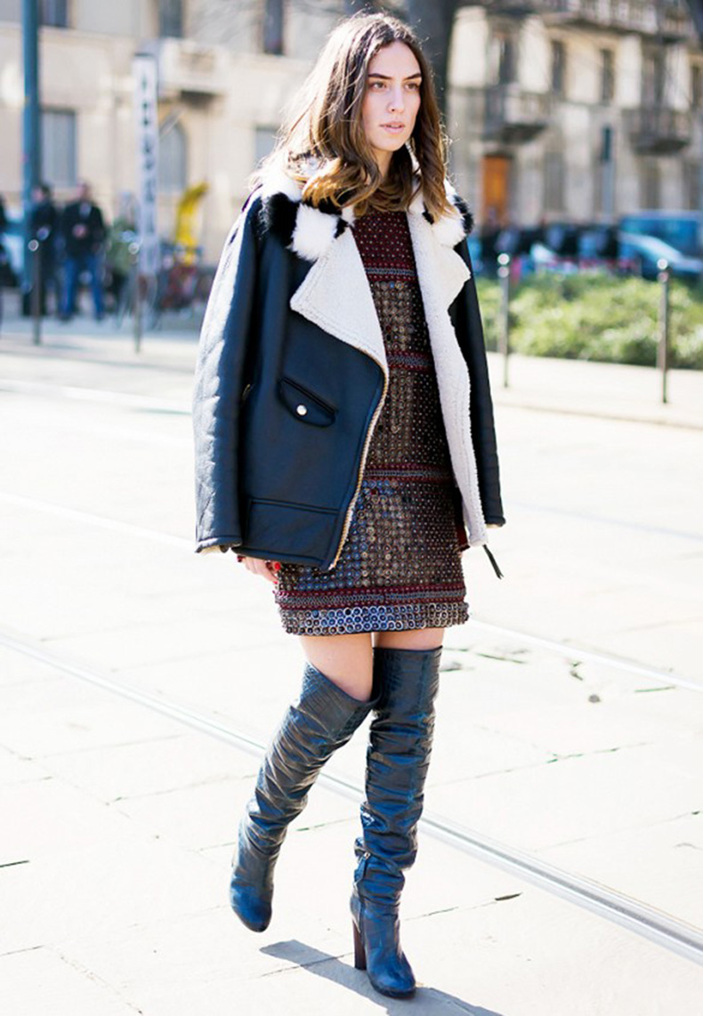 sequins-day-pailette-metallic-party-dress-day-over-the-knee-boots-shearling-leather-coat-winter-party-holiday-party-going-out-fall-via-style-du-monde1