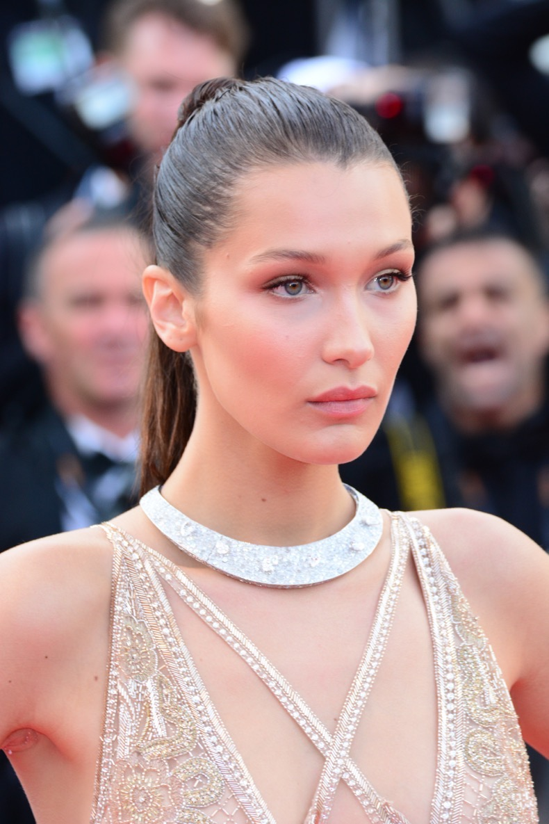 69th Cannes Film Festival - Opening Night Gala & 'Cafe Society' Premiere - Arrivals Featuring: Bella Hadid Where: Cannes, France When: 11 May 2016 Credit: Joe Alvarez **PLEASE SET CREDIT AS JOE ALVAREZ ONLY.**