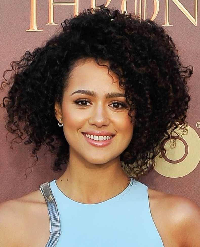 "SAN FRANCISCO, CA - MARCH 23: Nathalie Emmanuel attends HBO's ""Game Of Thrones"" Season 5 San Francisco Premiere at San Francisco Opera House on March 23, 2015 in San Francisco, California. (Photo by Steve Jennings/WireImage)"