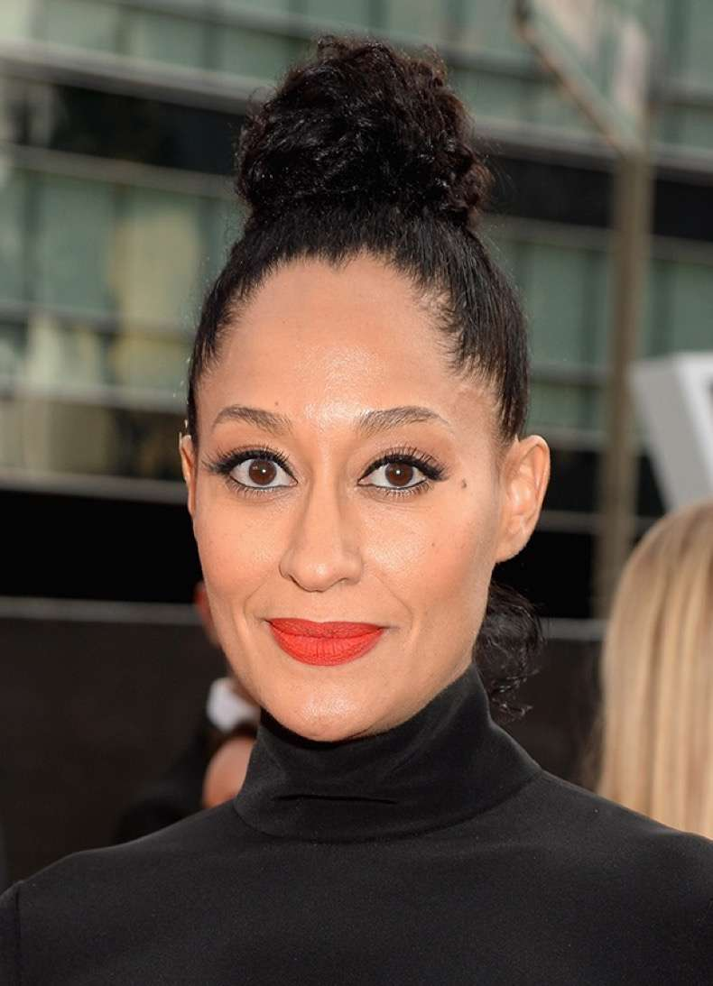 LOS ANGELES, CA - NOVEMBER 23: Actress Tracee Ellis Ross attends the 2014 American Music Awards at Nokia Theatre L.A. Live on November 23, 2014 in Los Angeles, California. (Photo by Jeff Kravitz/AMA2014/FilmMagic)