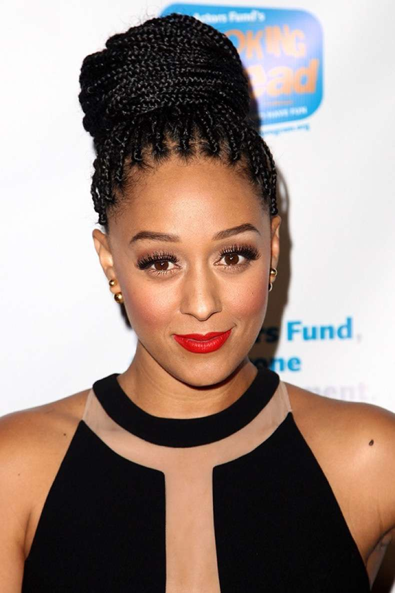 HOLLYWOOD, CA - DECEMBER 04: Actress Tia Mowry attends The Actor's Fund 2014 The Looking Ahead Awards held at the Taglyan Cultural Complex on December 4, 2014 in Hollywood, California. (Photo by Tommaso Boddi/WireImage)
