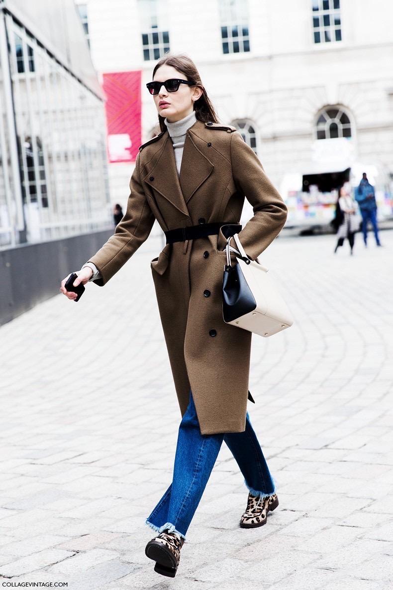 London_Fashion_Week_Fall_Winter_2015-Street_Style-LFW-Collage_Vintage-Camel_Coat-Belted_Coat-Leopard_Loafers-Victoria_Sekrier--790x1185