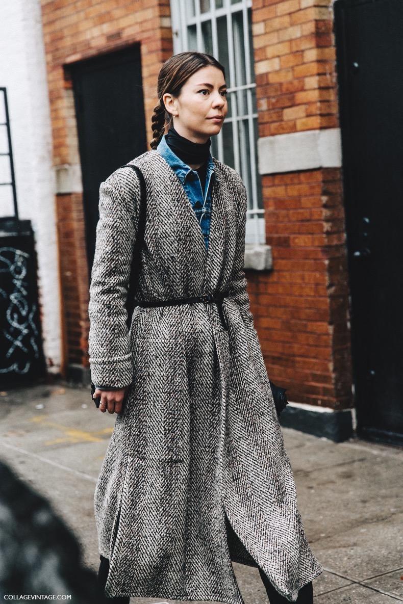 NYFW-New_York_Fashion_Week-Fall_Winter-17-Street_Style-Belted_Coat-Denim_Jacket-