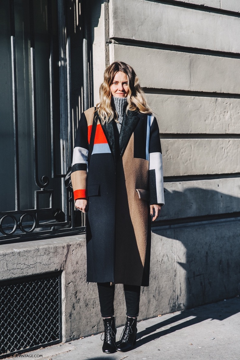 PFW-Paris_Fashion_Week_Fall_2016-Street_Style-Collage_Vintage-Celine_Coat-