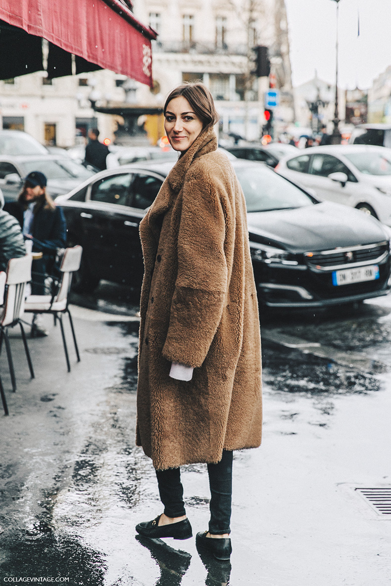 PFW-Paris_Fashion_Week_Fall_2016-Street_Style-Collage_Vintage-Fur_Coat-Gucci_loafers-Giorgia_tordini-