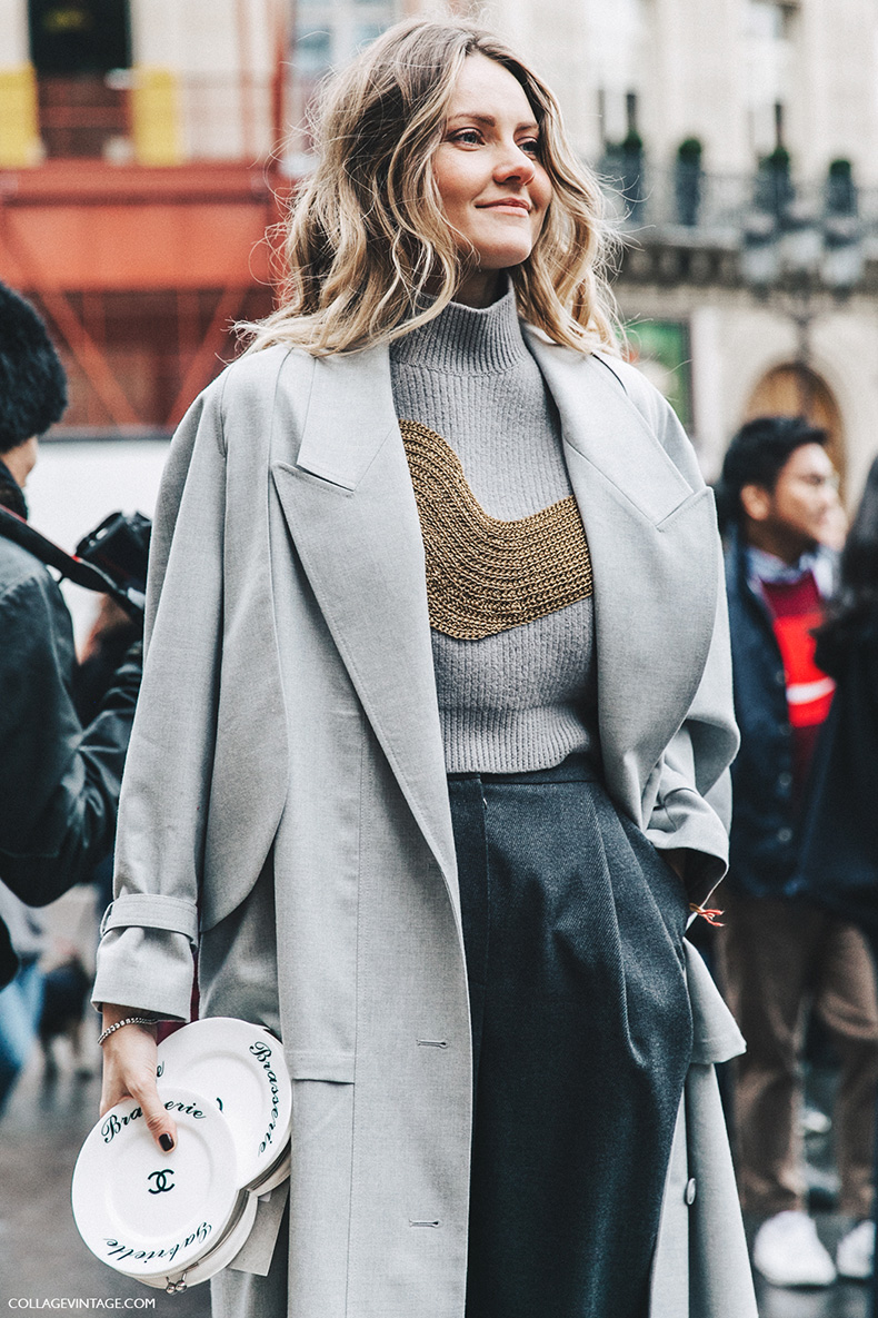 PFW-Paris_Fashion_Week_Fall_2016-Street_Style-Collage_Vintage-Stella_McCartney-Grey-Chanel_Clutch-Ekaterina_Mukhina-1