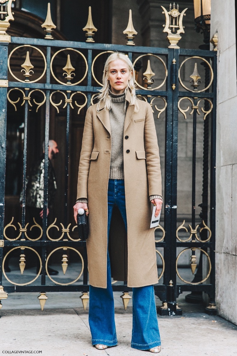 PFW-Paris_Fashion_Week_Fall_2016-Street_Style-Collage_Vintage-Stella_McCartney-Model-Camel-Jeans-4