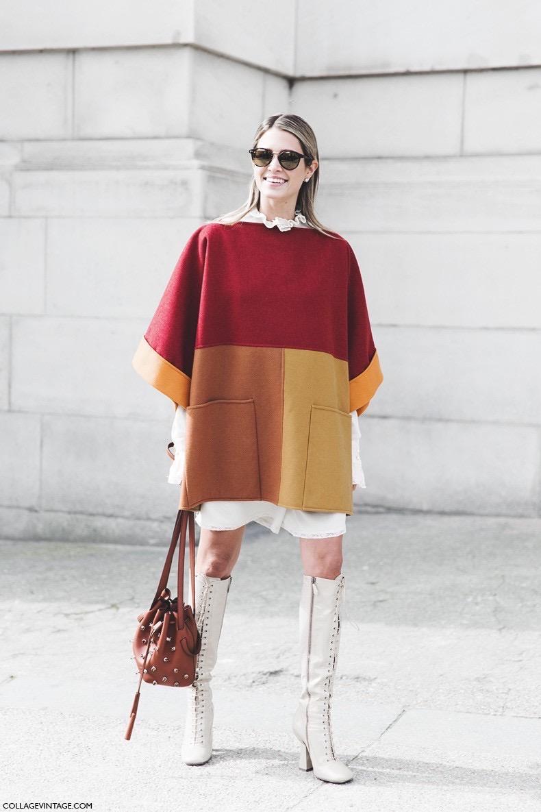 Paris_Fashion_Week-Fall_Winter_2015-Street_Style-PFW-Helena_Bordon-Cape-Lace_Up_High_Boots--790x1185
