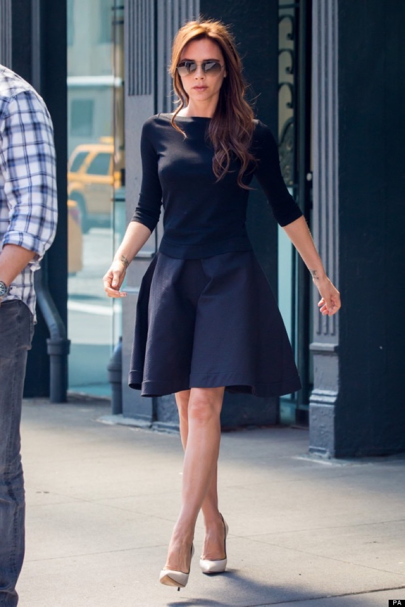 Victoria Beckham went shopping in Meetpacking District, New York on May 10, 2013 Photo by Misha Gulko & Charles Guerin / ABACAUSA.COM