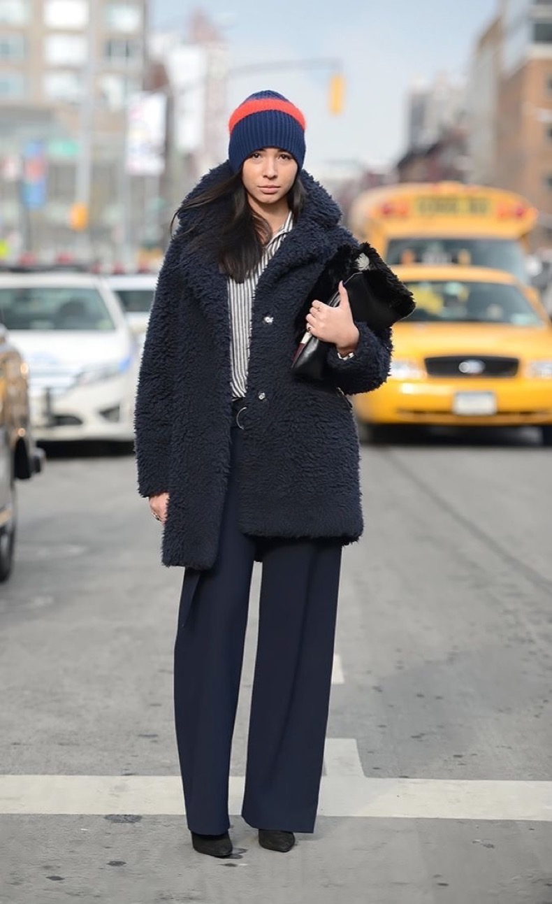 nyfw-winter-layers-freezing-navy-teddy-bear-coat-furry-coat-work-menswear-via-neimanmarcusblog-
