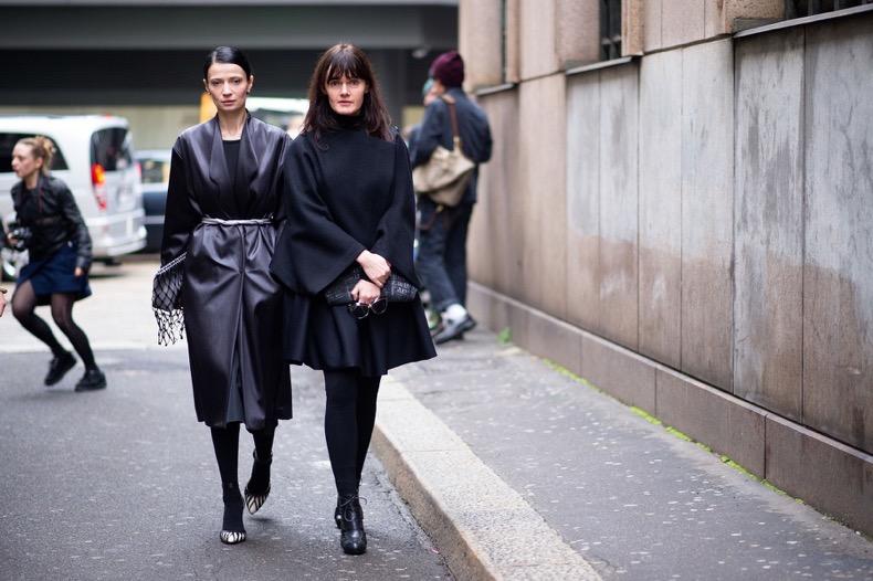 street-style-fashion-week-2014-2015-fall-winter-black-coat