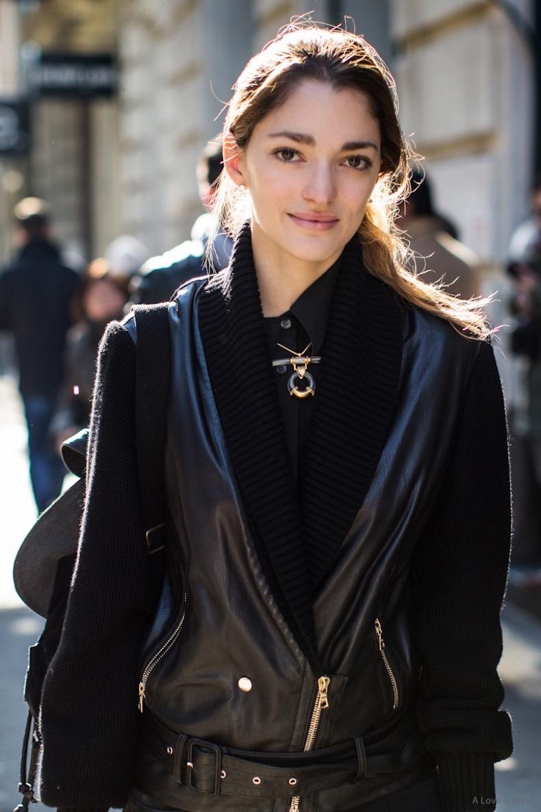 NEw York Fashionweek fw 2014, nyfw, day 2, sofia sanchez barrenechea