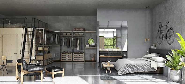 A-bright-loft-with-lots-of-plywood-and-black-tones3