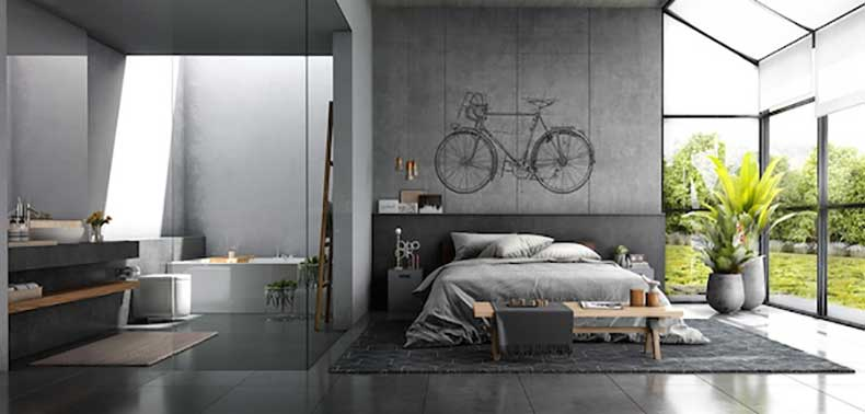 A-bright-loft-with-lots-of-plywood-and-black-tones4