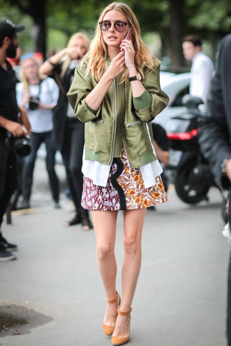 Olivia-Also-Made-Her-Bomber-Jacket-Work-Skirt-Ensemble