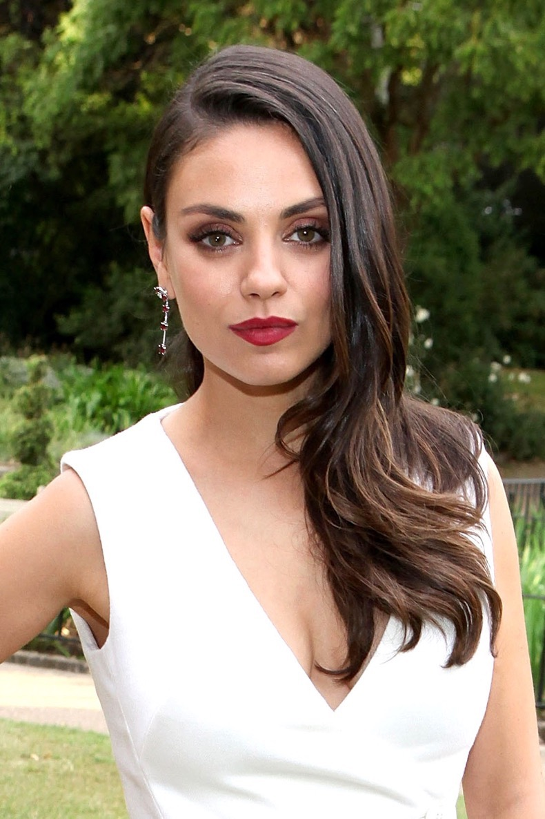 LONDON, ENGLAND - JUNE 23:  Actress and Gemfields brand ambassador, Mila Kunis, attends the launch of Gemfields Mozambican Rubies at The Orangery on June 23, 2015 in London, England.  (Photo by David M. Benett/Getty Images for Gemfields)