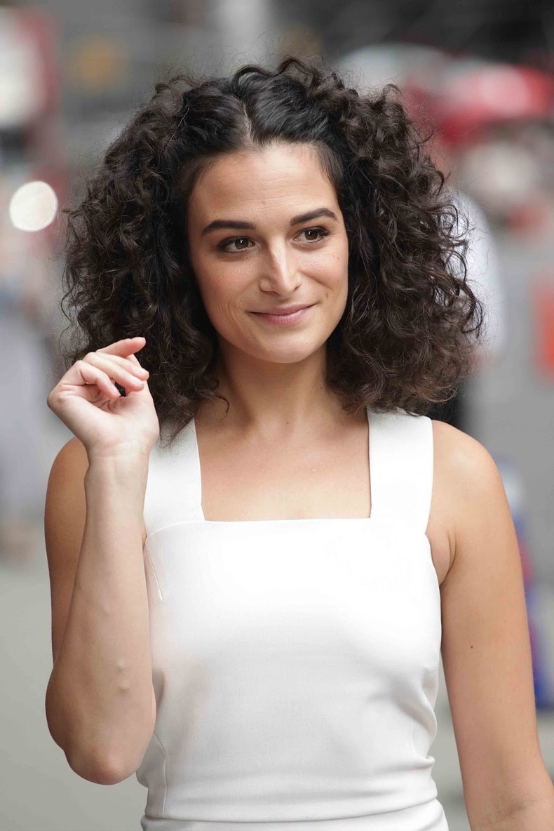 NEW YORK, NY - JUNE 27: Jenny Slate visits The Late Show With Stephen Colbert on June 27, 2016 in New York City. Credit: Diego Corredor/Media Punch