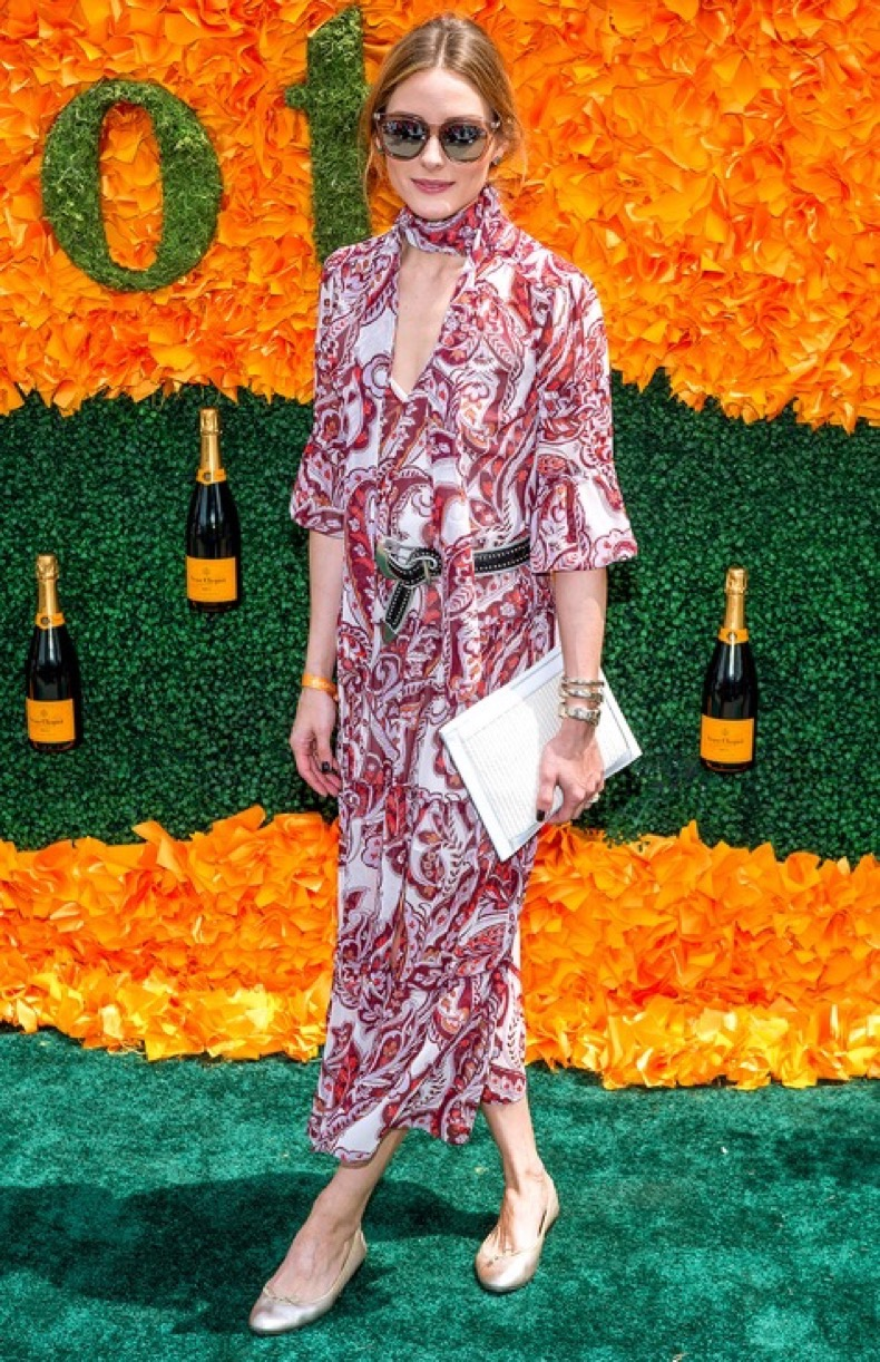 JERSEY CITY, NJ - JUNE 04:  Olivia Palermo attends the 9th Annual Veuve Clicquot Polo Classic at Liberty State Park on June 4, 2016 in Jersey City, New Jersey.  (Photo by Roy Rochlin/FilmMagic)