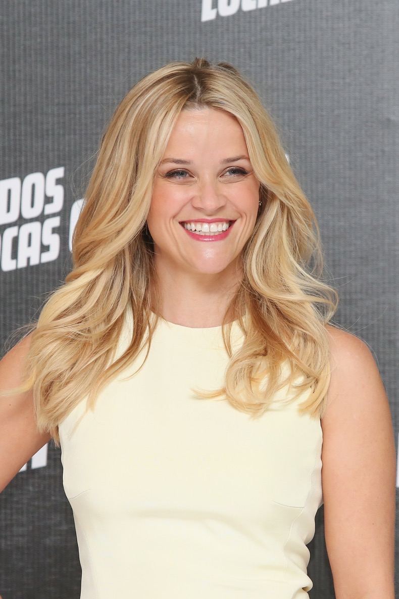 "MEXICO CITY, MEXICO - JUNE 23:  Actress Reese Witherspoon attends a photocall to promote her new film ""Hot Pursuit"" at St. Regis Hotel on June 23, 2015 in Mexico City, Mexico.  (Photo by Victor Chavez/WireImage)"