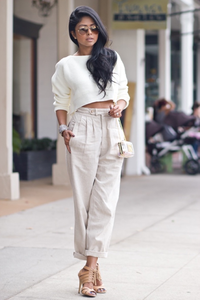 shop-lunab-white-cropped-knit-sweater-nude-high-waist-pants-shoemint-heels-mnologie-miniaudiere-clutch-ted-rossi-snakeprint-cuff-la-streetstyle-fashion-blogger-233