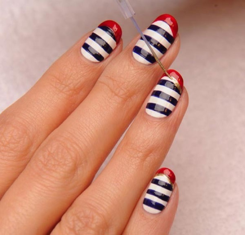 11_classy_nail_art_designs_for_short_nails11