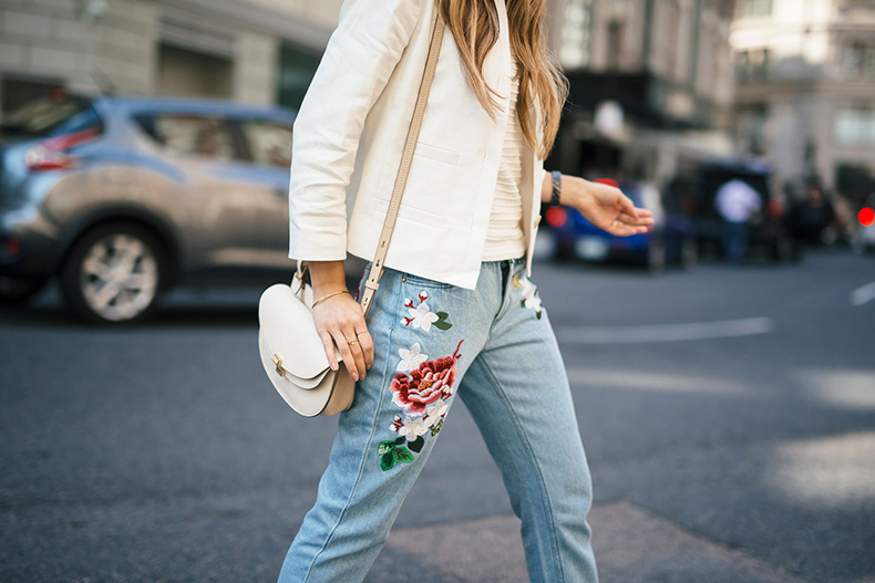 Embroidered-Jeans-The-Girl-From-Panama-Ribbed-Sleeveless-Sweater-Ann-Taylor-Linen-Jacket-Braided-Strappy-Sandals-Chloe-Georgia-bag.-12-copy