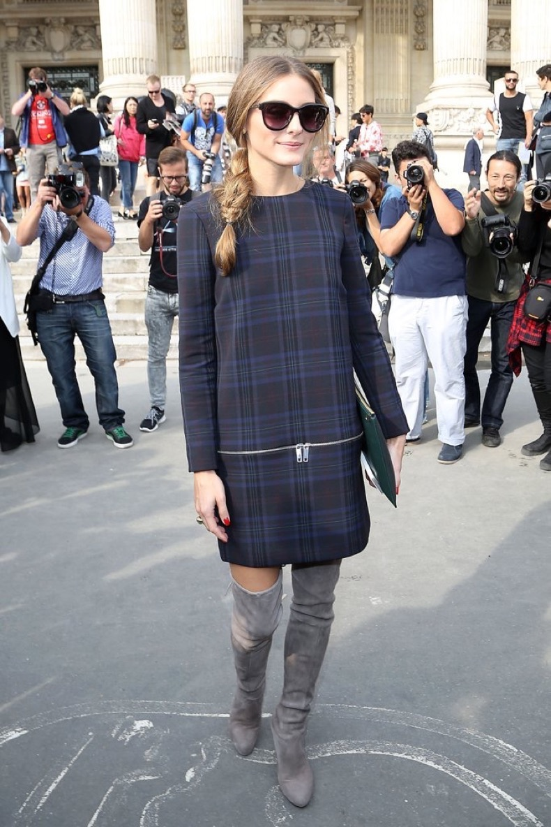 Headed-shows-Paris-Fashion-Week-Zara-shift-dress