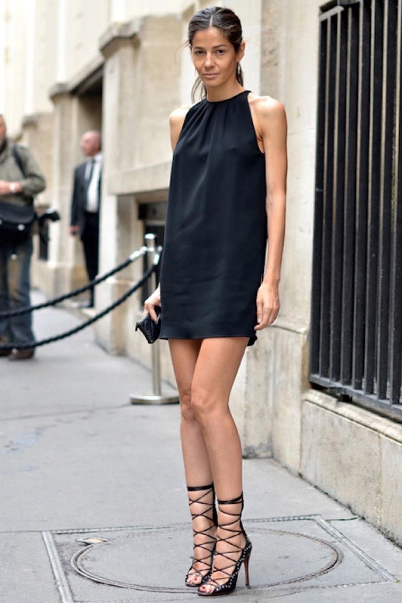 Le-Fashion-Blog-Two-Ways-Street-Style-Barbara-Martelo-Little-Black-Dress-Lace-Up-Heel-Sandals-Via-Elle-Street-Chic