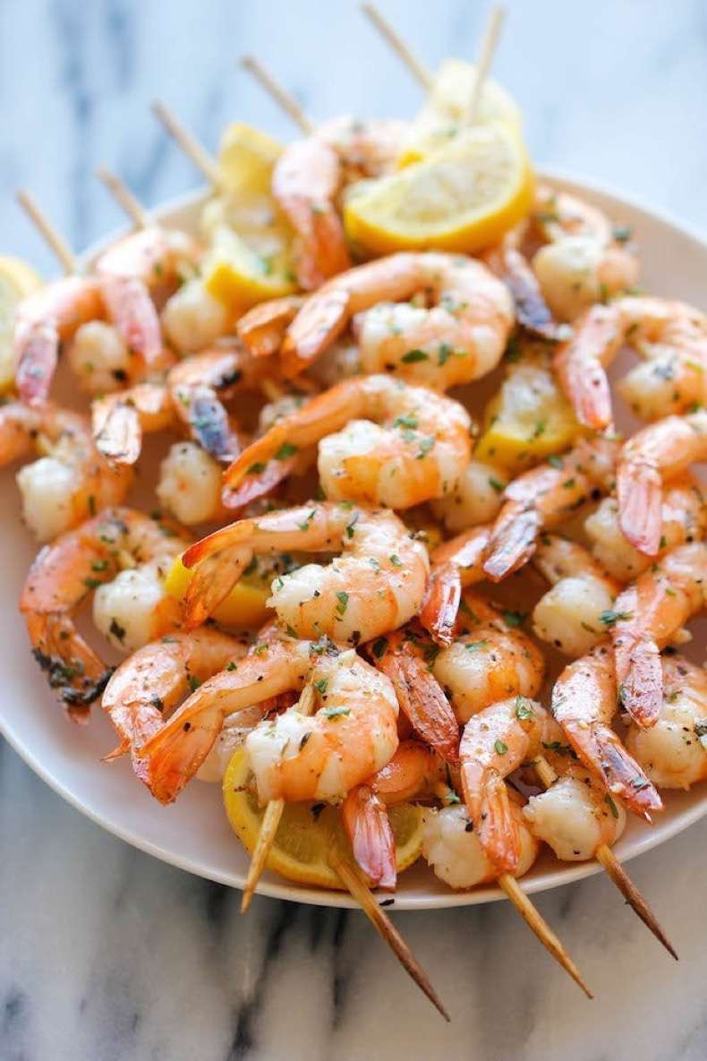 Lemon-Garlic-Shrimp-Kebabs