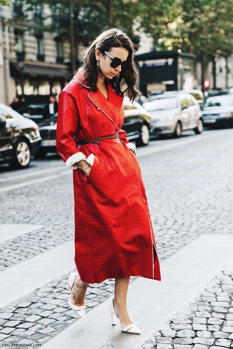 PFW-Paris_Fashion_Week-Spring_Summer_2016-Street_Style-Say_Cheese-Natasha_Goldenberg-Red_Coat-6-790x1185