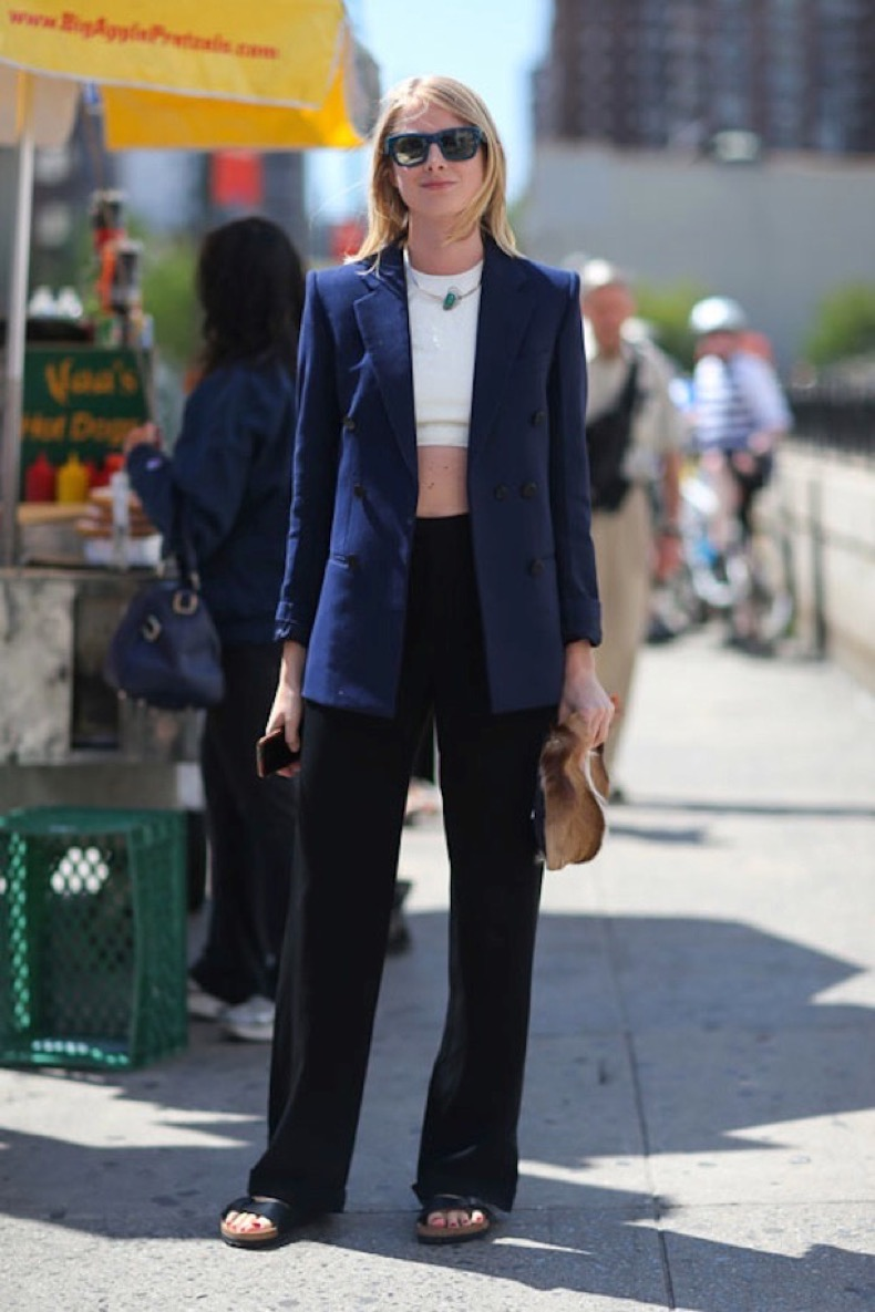 STREET STYLE NAVY AND BLACK 4