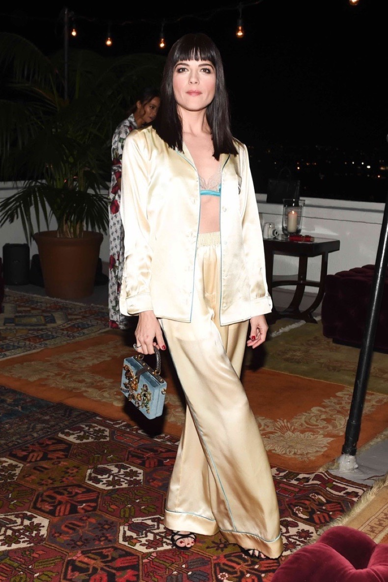 Selma-Blair-Dolce-Gabbana-Pajama-Party