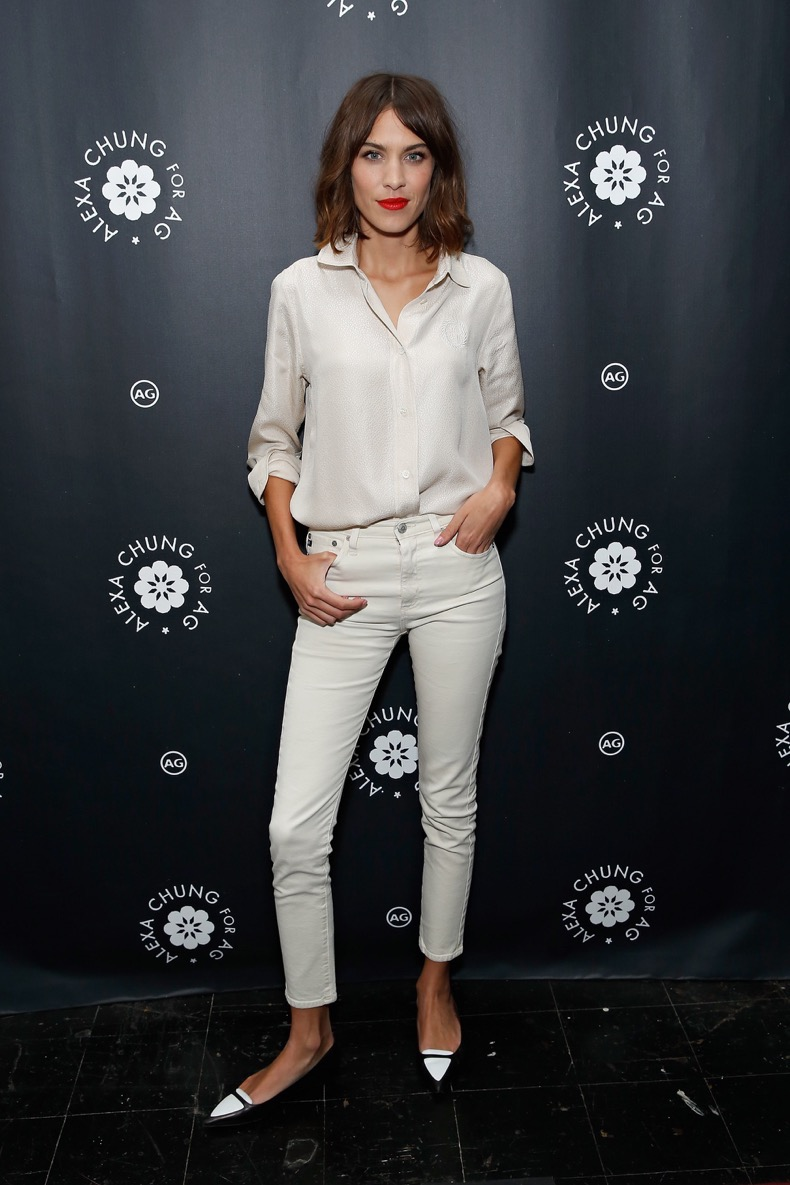 NEW YORK, NY - JANUARY 20:  TV personality/model Alexa Chung attends the Alexa Chung for AG New York Launch Party on January 20, 2015 in New York City.  (Photo by Cindy Ord/Getty Images)
